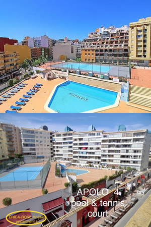 1 Bedroom Apartment For Rent, Apolo 4 Apartments, Calpe