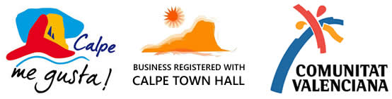 our holiday lettings business is registered with calpe town hall