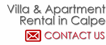 contact us for apartments and villas for rent in calpe